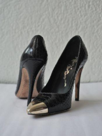 Zapatos de tacón negros