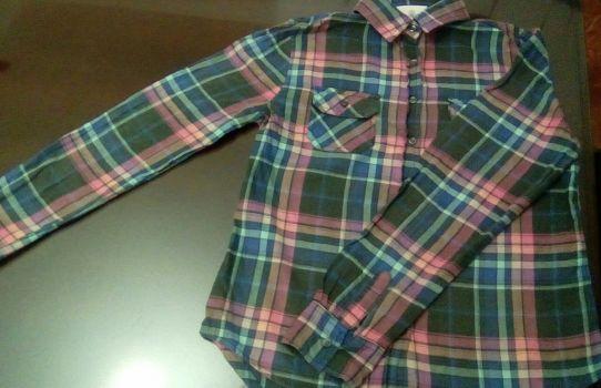 Camisa de cuadros 2x1