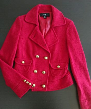 Jacket roja forever 21