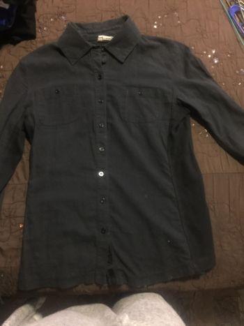 Camisa converse negra