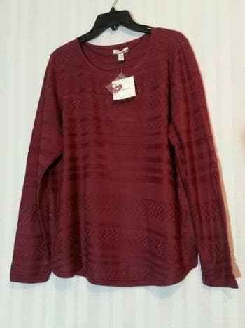 Suéter vino nuevo