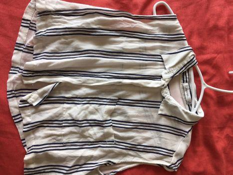 Camisa - crop top