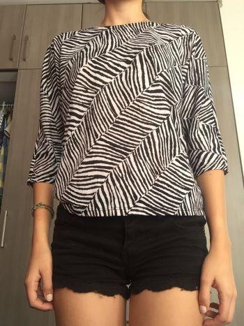 Blusa animal print