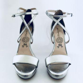 Zapatillas Cklass en Dorado y Plata