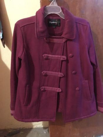 Abrigo color fucsia