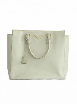 Bolsa Prada blanca