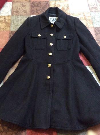 Abrigo militar tipo vestido talla M