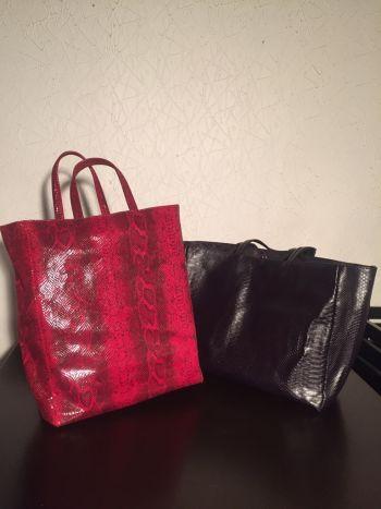 2 Tote bag animal print