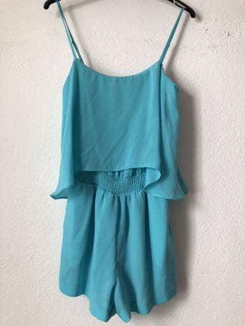 Jumpsuit short Bebe Azul