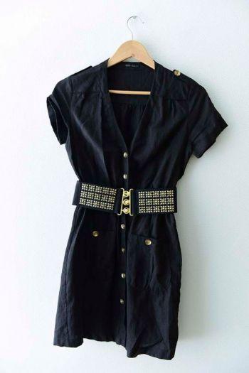 Vestido negro formal
