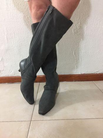 Aerosoles botas grises