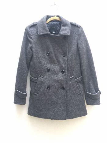 Abrigo de lana Forever 21
