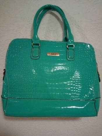 Bolsa verde menta!!