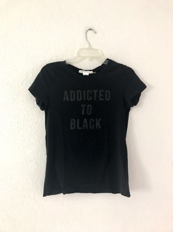 ADDICTED TO BLACK t-shirt