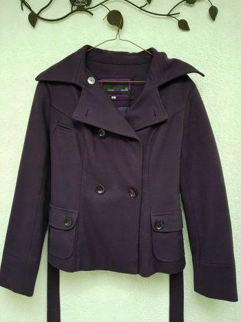 Abrigo color Uva