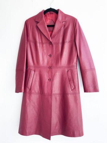 Abrigo de piel largo